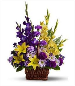Photo of Flower Basket of Memories - T218-3