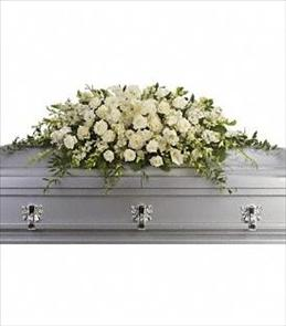 Photo of Purity and Peace Casket Spray - T229-3