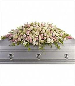 Photo of Always Adored Casket Spray - T236-3