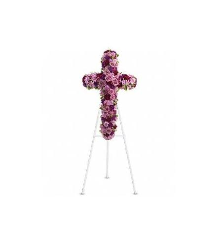 Photo of flowers: Deepest Faith Cross