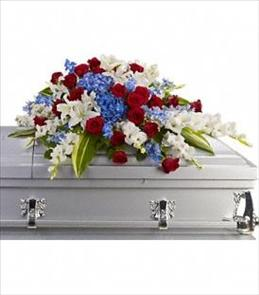 Photo of Distinguished Service Casket Spray - T240-3