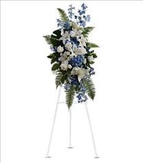 Photo of Ocean Breeze Spray Blue and White - T246-2