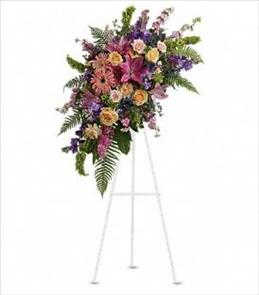Photo of Heavenly Grace Easel Spray - T248-1