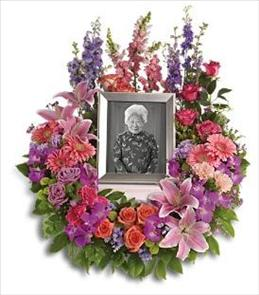 Photo of In Memoriam Wreath - T253-1