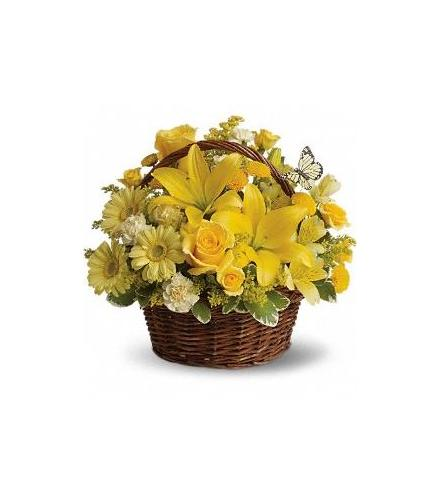 Photo of flowers: Full of Wishes in Basket