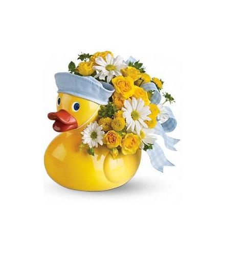 Photo of flowers: Ducky Delight - Boy