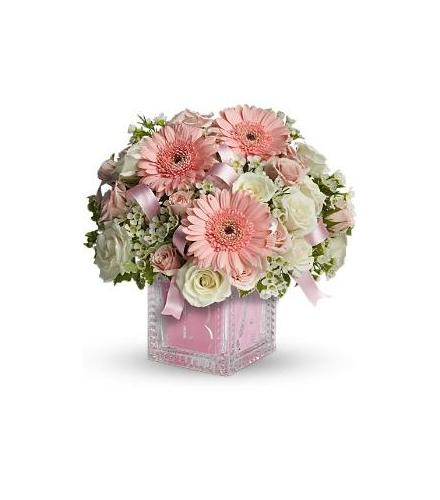 Photo of BF6375/T37-2DX (3 pink gerbera added)