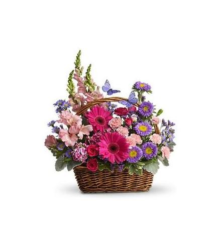 Photo of flowers: Country Basket Blooms