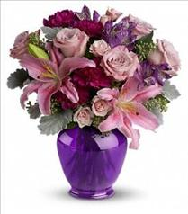 Photo of Teleflora's Elegant Mauve Beauty - TEV06-1