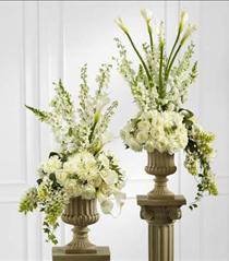 Photo of Classic White Arrangement (one)  FTD - W10-4641