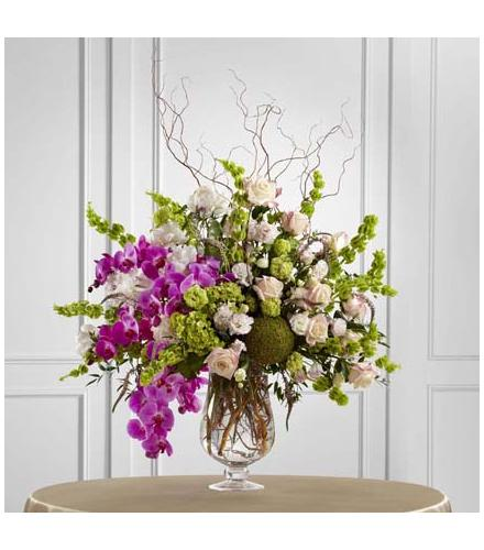 Photo of flowers: Soft Sophistication Arrangement