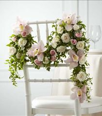 Photo of The FTD Orchid Rose Chair Décor - W19-4672