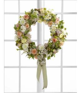 Photo of The Garden Splendor Wreath - W32-4704