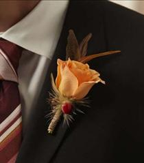 Photo of The FTD Free Spirit Boutonniere - W45-4732