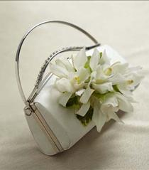 Photo of The FTD White Purse Décor - W5-4624