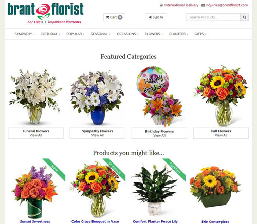 Flower Delivery By Brant Florist Send Flowers Same Day