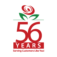 Brant Florist 56 Years in Business Logo