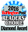 2016 Burlington Post Readers Choice Award Logo