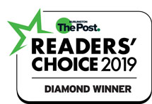 2019 Burlington Post Readers Choice Award Logo