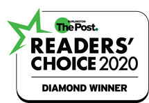 2020 Burlington Post Readers Choice Award Logo