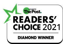 2021 Burlington Post Readers Choice Award Logo