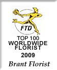 FTD TOP 100 Florist Logo 2009