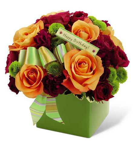 Photo Of Flowers Birthday Bouquet